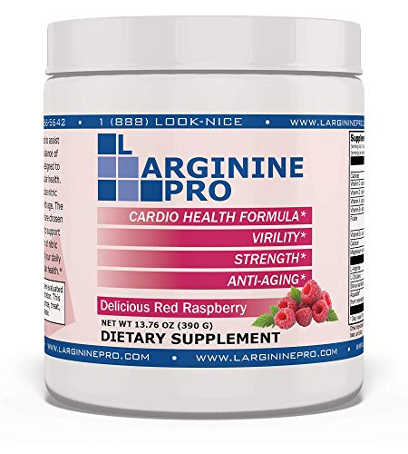 L-arginine Pro, L-arginine Supplement - 5,500mg of L-arginine Plus...