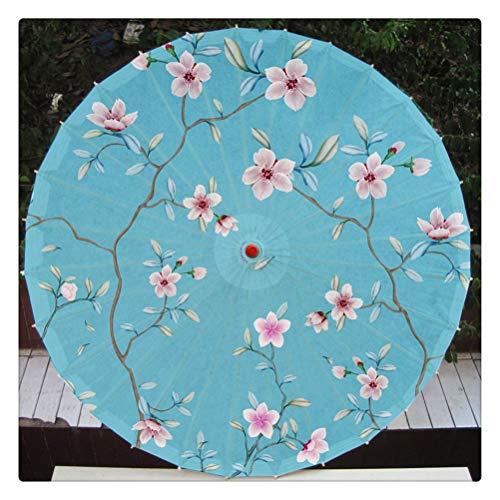 DFSDG Estilo chino patrón de flores paraguas danza rendimiento decoración fotografía Prop (color: estilo 1)