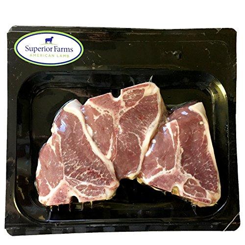 Superior Farms Lamb Loin Chops, 9 oz (frozen)