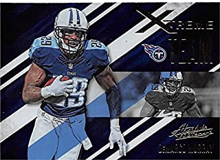 DeMarco Murray football card (Tennessee Titans) 2016 Absolute #17 Xtreme Team Insert Edition