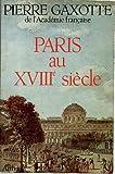 Paris au XVIIième Siecle Nouvelle Édition