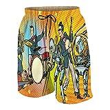 De Los Hombres Casual Pantalones Cortos,Jazz...