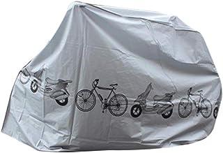 JSPOYOU Universal Outdoor Waterproof Bike Cover Bicycle Cycle Rain Dust Resistant Storage