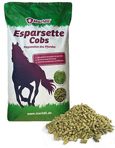 Maridil ESPARSETTE-Cobs, getreidefreies Basisfutter für jedes Pferd, 20 kg