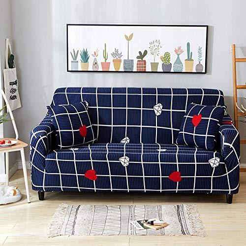 protector de muebles ajustable,Funda de sofá elástica, fibra de poliéster elástica spandex 1/2/3/4 sofá de asiento, funda de sofá funda de protección para muebles de sala de estar-Color 16_90-140cm