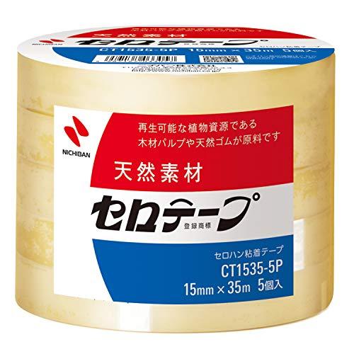 セロテープ 大巻 業務用 5巻入り 15mm×35m CT1535-5P