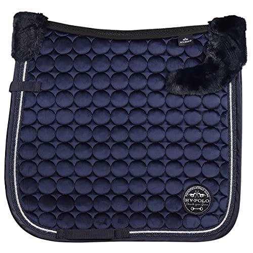 HV Polo Tapis de Selle Furry Luxury - Bleu foncé-Dressage Cheval
