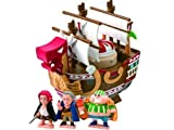 One Piece Chara Bank Shanks Red Force Ship