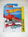 Hot Wheels 2015 HW Off-Road Sky Knife Helicopter 94/250, Red
