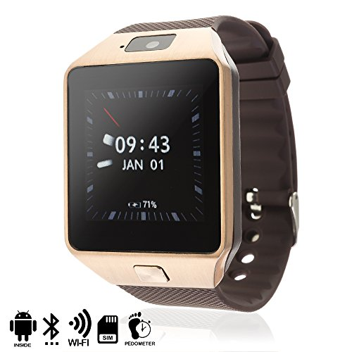 DAM–Smartwatch Phone AK-QW09 con Android 4,43G/Wi-Fi/Android