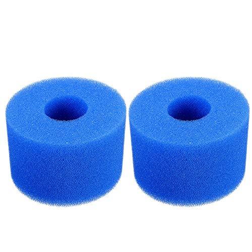 Shumo - Cartucho de filtro de espuma lavable para bañera de hidromasaje Intex Pure Spa