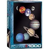 EuroGraphics Nasa Solar System 1000 Piece Puzzle