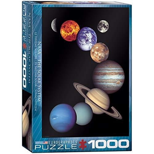 Eurographics 1000 Teile - NASA Sonnensystem