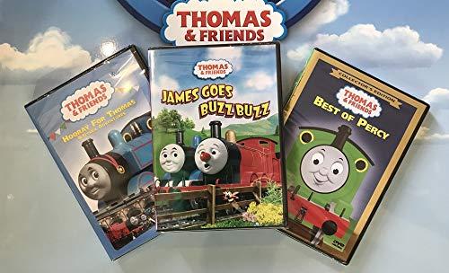 3 DVD Thomas Set - Thomas & Friends Wooden Tank Train Engine Sealed