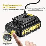 Zoom IMG-1 topelek lithium battery 20v max