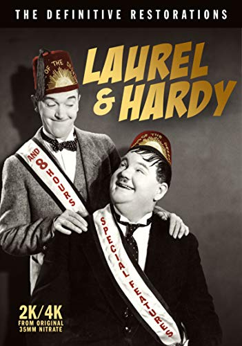 Laurel & Hardy: Definitive Restorations (6 Dvd) [Edizione: Stati Uniti]
