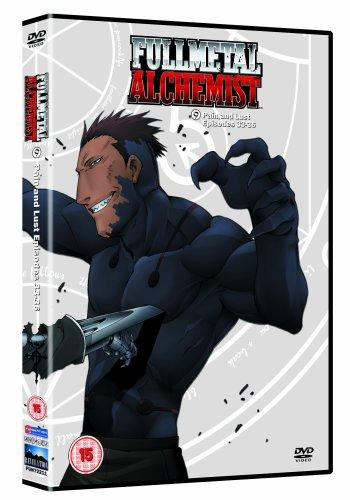 Fullmetal Alchemist 9 - Pain And Lust [Reino Unido] [DVD]