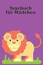 Tagebuch für Mädchen: Comic Löwen Tagebuch mit 100 leeren Lienen Seiten für deine Notizen, Gedanken, Aufgaben, Ziele, Gedi...