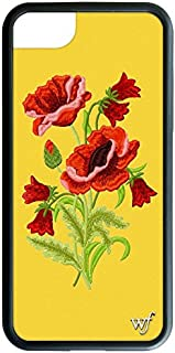 Wildflower Limited Edition Cases for iPhone 6, 7, or 8 (Yellow Floral)