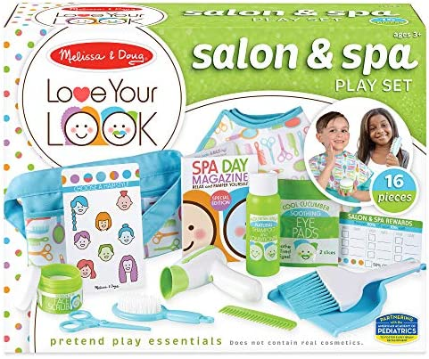 Melissa Doug Love Your Look Salon Spa Play Set product image