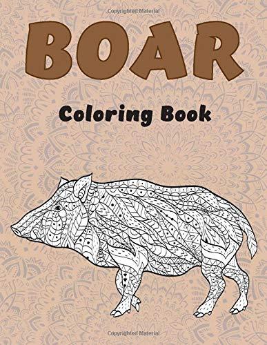Boar - Coloring Book 🐗