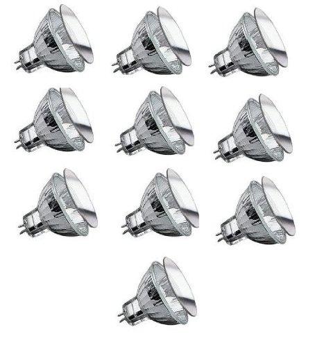 10x Paulmann Security Leuchtmittel MR16 GU5,3 20W 20 Watt 12V Halogen Neu