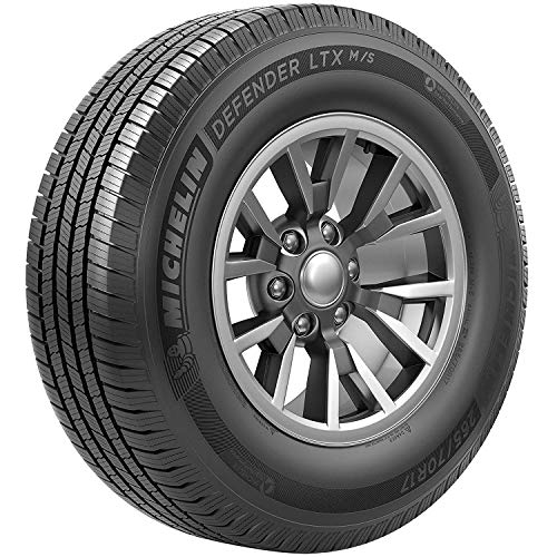Michelin Defender LTX M/S All- Season Radial Tire-LT265/70R17/E 121/118R 121R