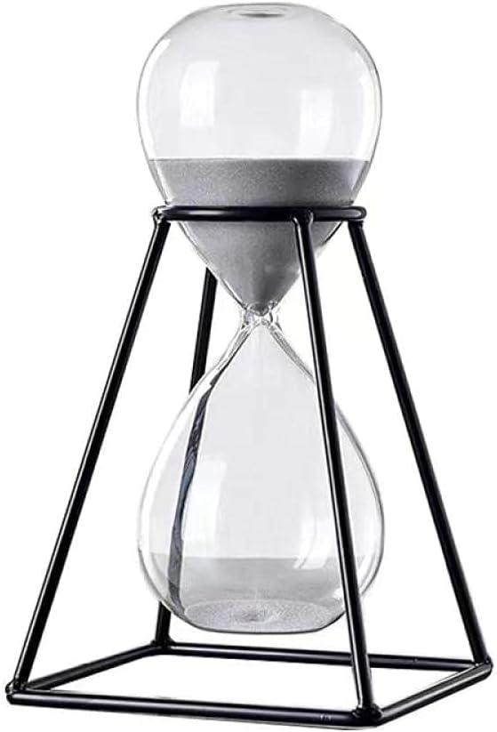 YQLKD Figurines Decor favorite Items Metal Max 71% OFF Ornamen Modern Timer Hourglass