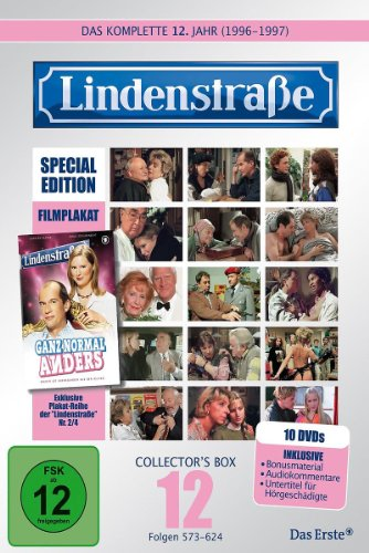 Lindenstraße - Das komplette 12. Jahr (Ltd. Edition mit Filmplakat) (10 DVDs)