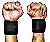 MANIMAL Wrist Wraps - Superior Support, Stabilization and Style - Get 3 Years of Daily Use - Lifting Straps and Guards for Men and Women - Weightlifting, Crossfit, Powerlifting, Strength Training, Gym