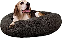 【MULTIPLE SIZES】Dog bed suitable for small/medium/large dogs and cats. L:60*45*19cm (for pets up to 11kg), XL:80*60*19cm (for pets up to 15kg), XXL:90*70*19cm (for pets up to 24kg), XXXL:110*85*19cm (for pets up to 45kg) , please choose the most suit...