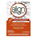 Align Probiotic Pro Formula, #1 Doctor Recommended Brand, Helps Soothe Occasional Gas, Abdominal Discomfort, Bloating to Support a Healthy Digestive System 24/7, 63 Capsules