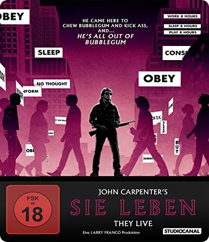 Sie leben - SteelBook - Collector's Edition (4K Ultra HD) (+ Blu-ray) (+ Bonus-Blu-ray) (+ CD-Soundtrack)