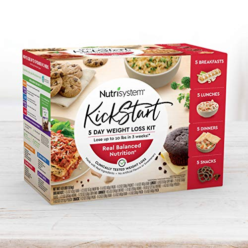 Nutrisystem Kickstart Red Kit - Real Balanced Nutrition - 5-Day Weight Loss Kit with Delicious Meals & Snacks