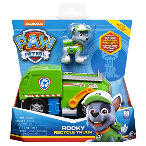 Paw Patrol Camion dei Rifiuti di Rocky, dai 3 Anni - 6056861
