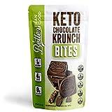 BETTER THAN GOOD SNACKS Keto Chocolate Crunch Bites   Sugar Free, Low Carb Dark Chocolates   Gluten...