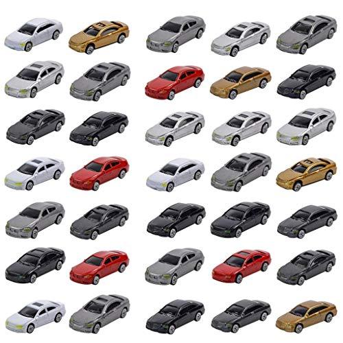 #N/A/a Paesaggio del Treno della Costruzione dell'automobile 1:87 del Modello di Scala di Ho 50pcs Nuovo