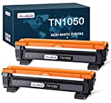 OfficeWorld TN1050 Cartuccia Toner per Brother TN-1050 (2 Nero) Compatibile con Stampanti Brother HL-1110 DCP-1510 HL-1210W DCP-1610W HL-1112 MFC-1810 HL-1212W MFC-1910W DCP-1612W DCP-1512