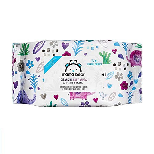 Mama Bear Wet Wipes (Pack of 8, 72 Sheets per Pack)