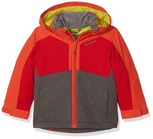 Ziener Kinder ABORO Jacket ski Skijacke, Grey Iron Melange, 164