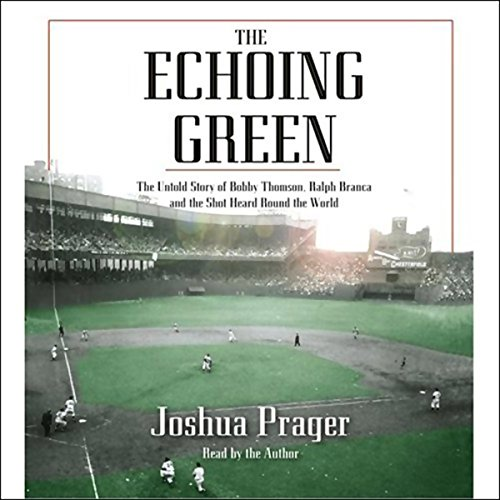 The Echoing Green audiobook cover art