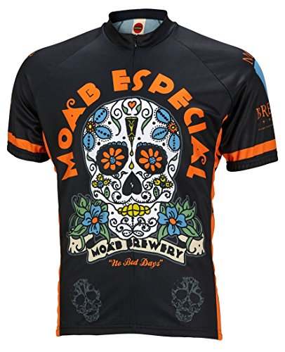 World Jerseys Men's Moab Brewery Especial Cycling Jersey Large Multicolor