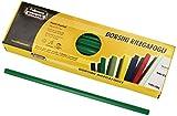 Fellowes D103VE Dorsini Rilegafogli, Diametro 3 mm, Confezione da 50 Pezzi, Verde