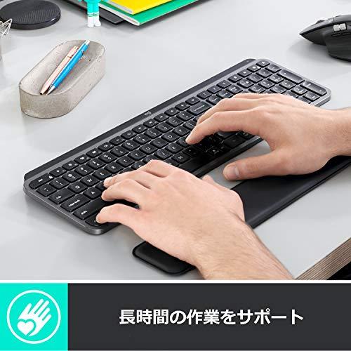 ロジクールパームレストMX10PRグラファイトキーボード用国内正規品2年間無償保証