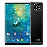 LINGOSHUN Tablet Android PortáTil,CáMara de 2MP + 5MP, 8 Pulgadas Tableta,Altavoz Dual, GPS + Bluetooth, Pantalla IPS HD de 1280x800 / Negro / 1+16GB