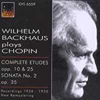 Wilhelm Backhaus Plays Chopin