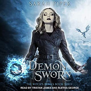 Demon Sworn     A Reverse Harem Paranormal Romance (The Witch's Rebels, Book 3)              By:                                                                                                                                 Sarah Piper                               Narrated by:                                                                                                                                 Aletha George,                                                                                        Tristan James                      Length: 6 hrs and 55 mins     4 ratings     Overall 4.8