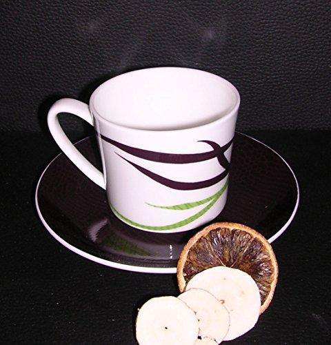 Rosenthal Jade Jungle - 2 Kaffeetassen 0,22 l mit Untere - 1.Wahl , NEU