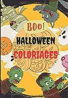 Halloween Coloriages: Cahier de coloriage, livre de coloriage pour enfant sur le thème d'Halloween