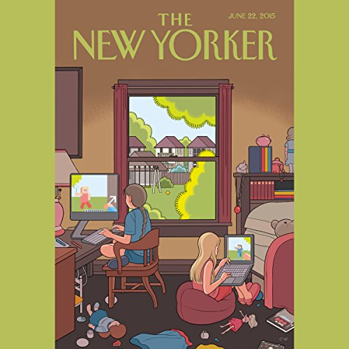 The New Yorker, June 22nd 2015 (Connie Bruck, Margaret Talbot, Philip Gourevitch) cover art